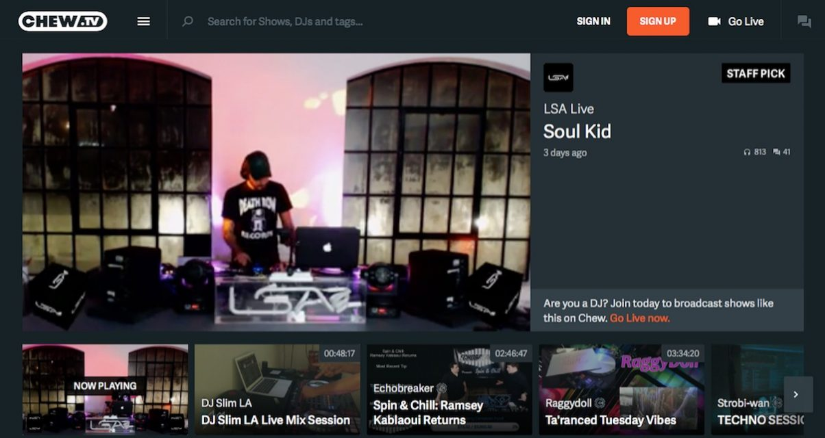 DJ Video Mix Site Chew tv In Crisis After Hack Attack