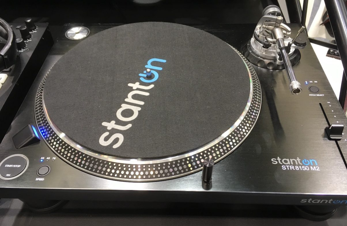 We were lucky enough to catch a glimpse of the highly anticipated Stanton STR8150 MK2.
