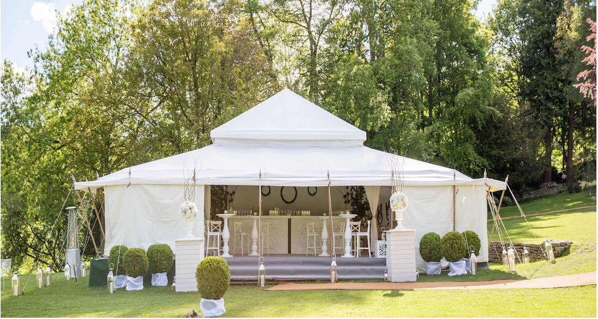 Wedding planners and marquee hire companies will often make recommendations for DJs to their clients. Get on their list!