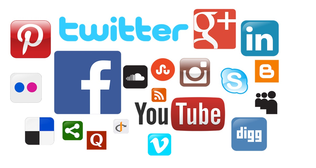 Social media channels offer you an almost unlimited resource of people to talk to and pages to promote yourself on.