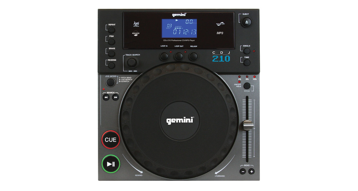The Gemini CDJ210- is a prime example of dated DJ tech that is still being sold.