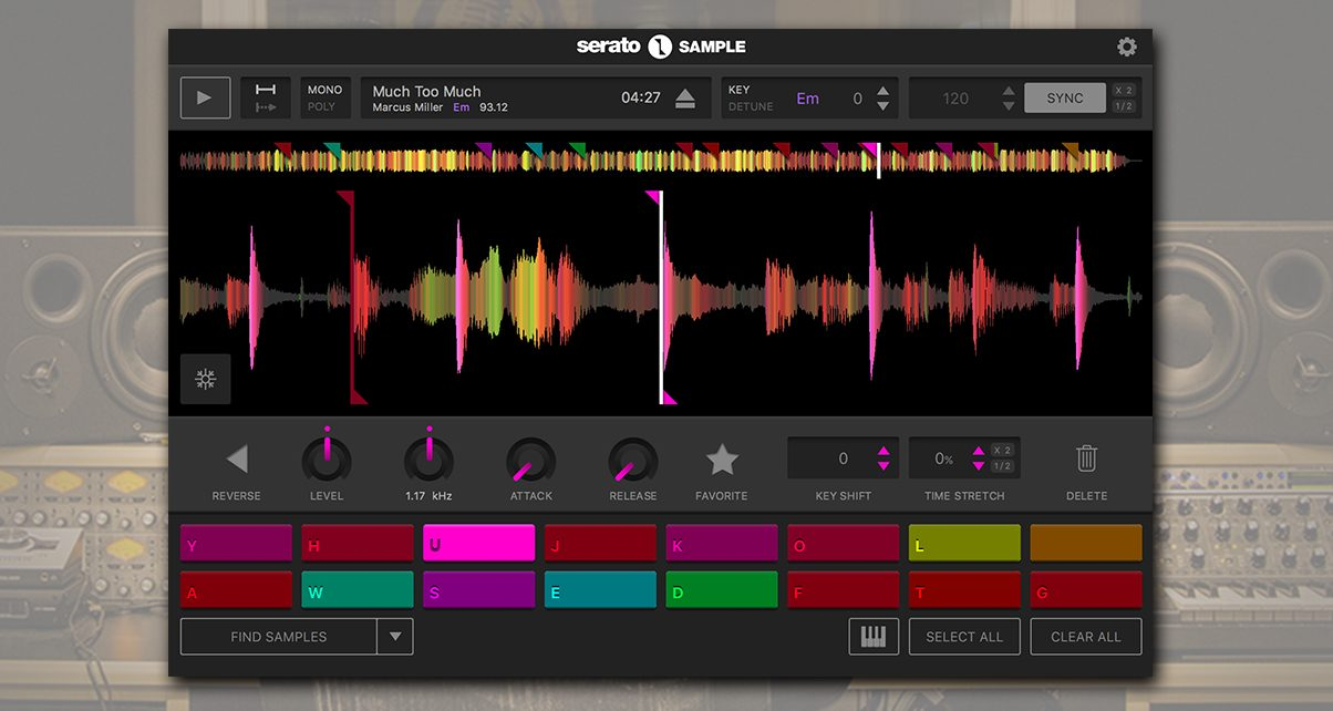 Serato just released its Serato Sample plugin for chopping, stretching, and key shifting audio.