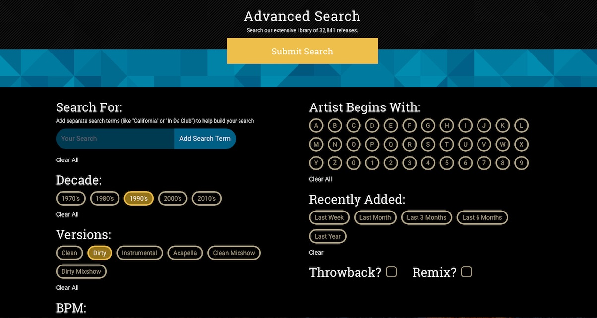 advanced-search-LNPR-digital-dj-tips