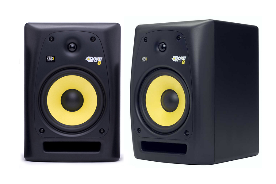 krk rokit 6 powered monitor speakers review digital dj tips. Black Bedroom Furniture Sets. Home Design Ideas