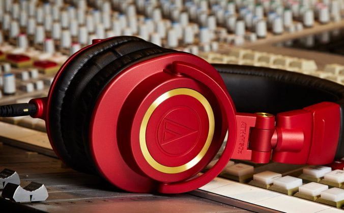 Audio-Technica-M50-Red
