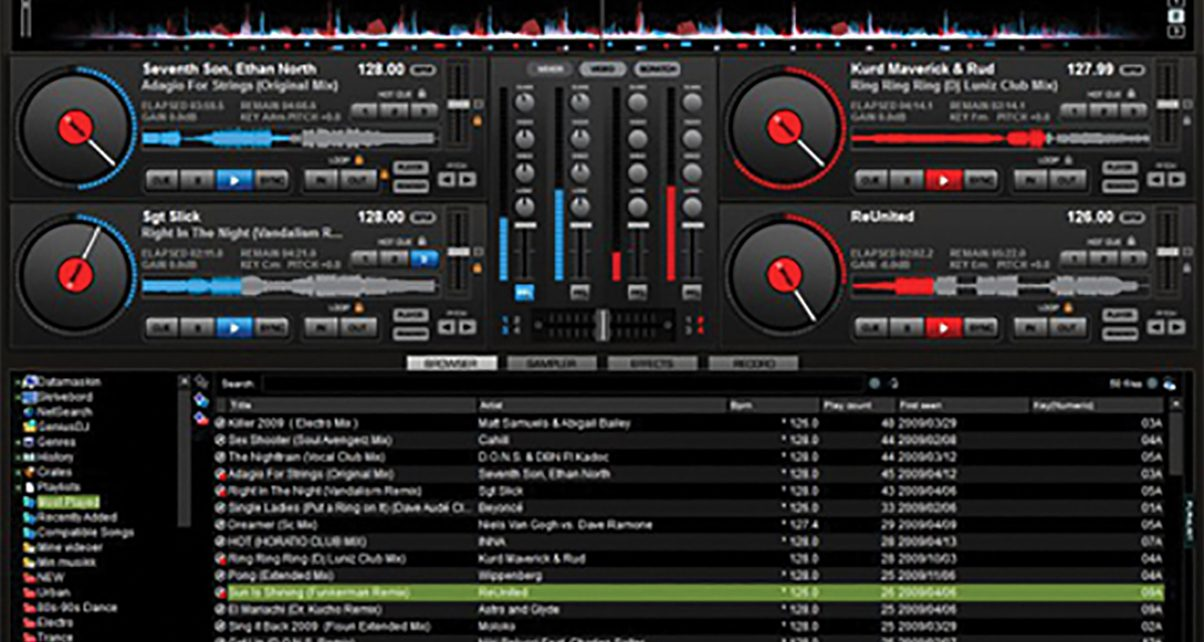 Virtual DJ 7 Trumps 4 Decks With Erm 99