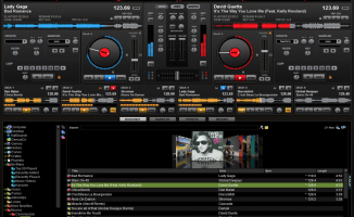 Virtual DJ Pro 6 decks