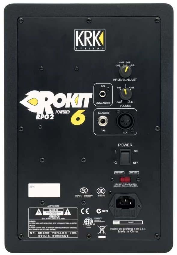 Fonkelnieuw KRK Rokit 6 Powered Monitor Speakers Review - Digital DJ Tips MN-71