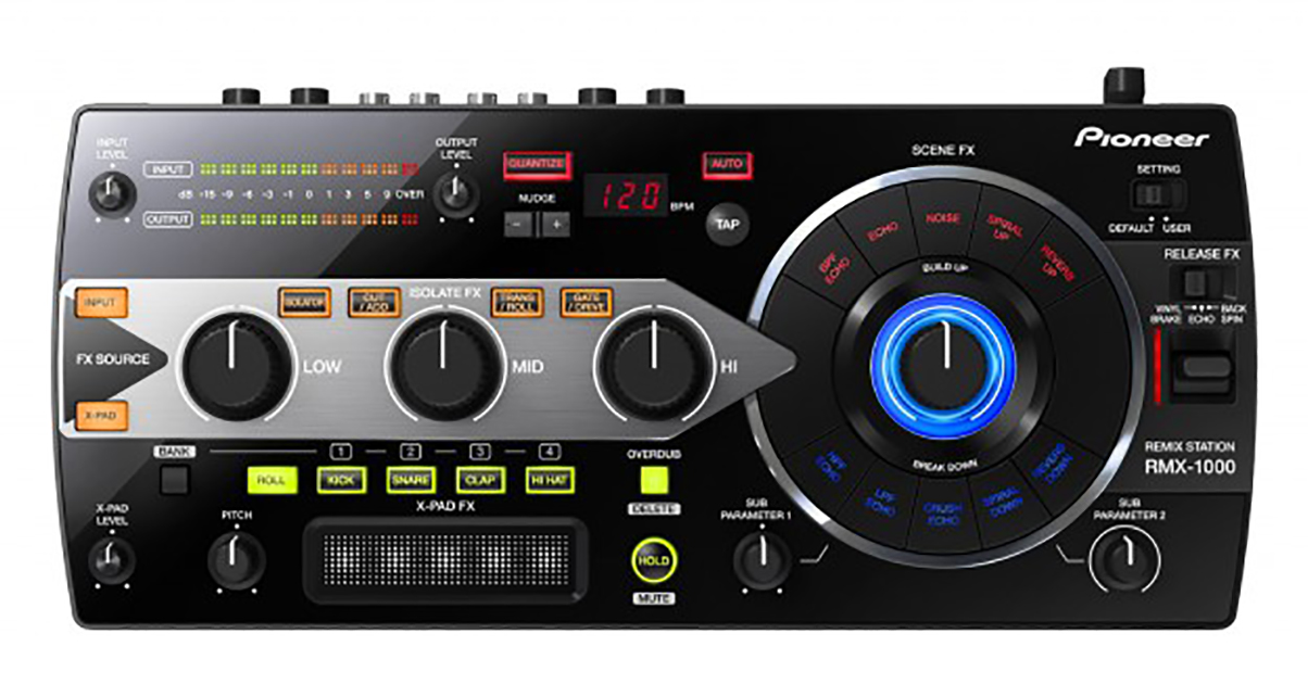 pioneer rmx 1000 effects samples for analogue djs. Black Bedroom Furniture Sets. Home Design Ideas