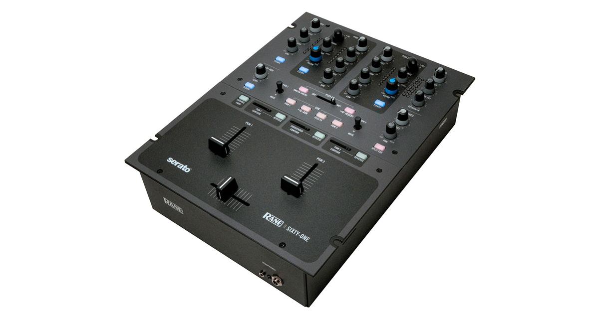 review video rane sixty one digital mixer for serato scratch live digital dj tips. Black Bedroom Furniture Sets. Home Design Ideas