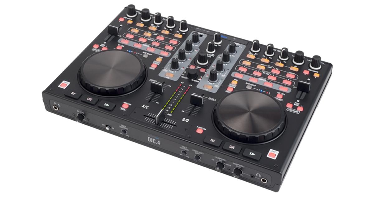 STANTON DJC.4 VIRTUAL DJ CONTROLLER
