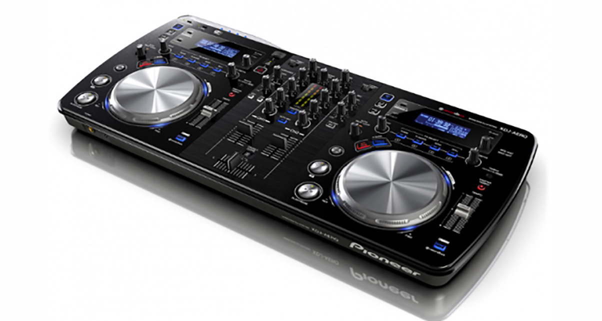the xdj aero wifi enabled dj midi controller mixer. Black Bedroom Furniture Sets. Home Design Ideas