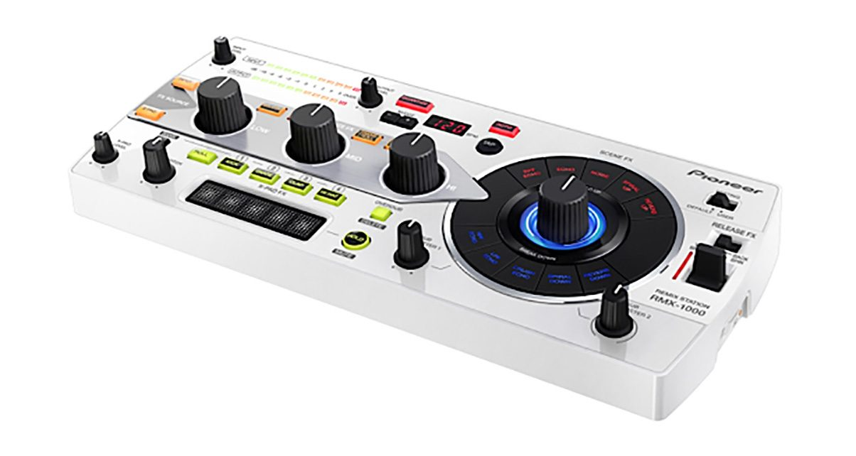 Pioneer Remix-Station RMX-500 Effects Unit Launched - Digital DJ Tips
