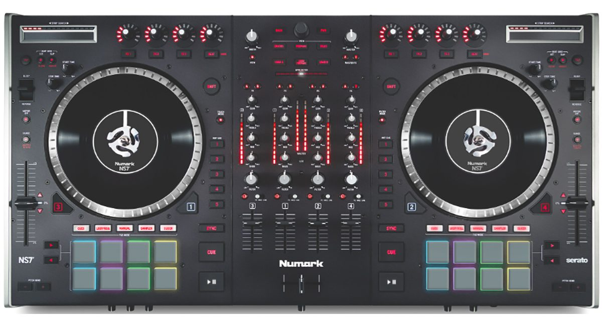 Numark Ns7 Ii Serato Dj Controller Announced Digital Dj Tips