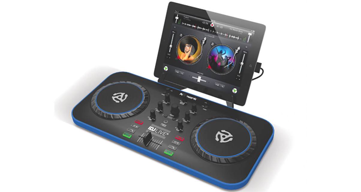 numark idj live ii controller digital dj tips. Black Bedroom Furniture Sets. Home Design Ideas