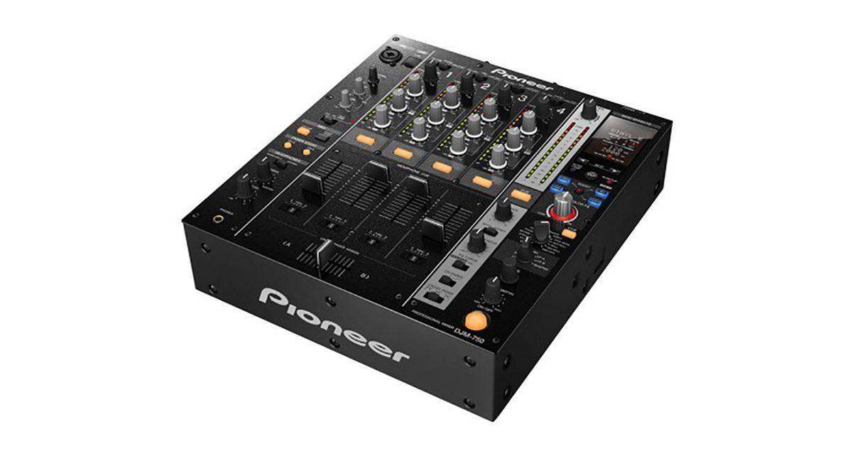 pioneer djm 750 digital mixer with new effects digital dj tips. Black Bedroom Furniture Sets. Home Design Ideas