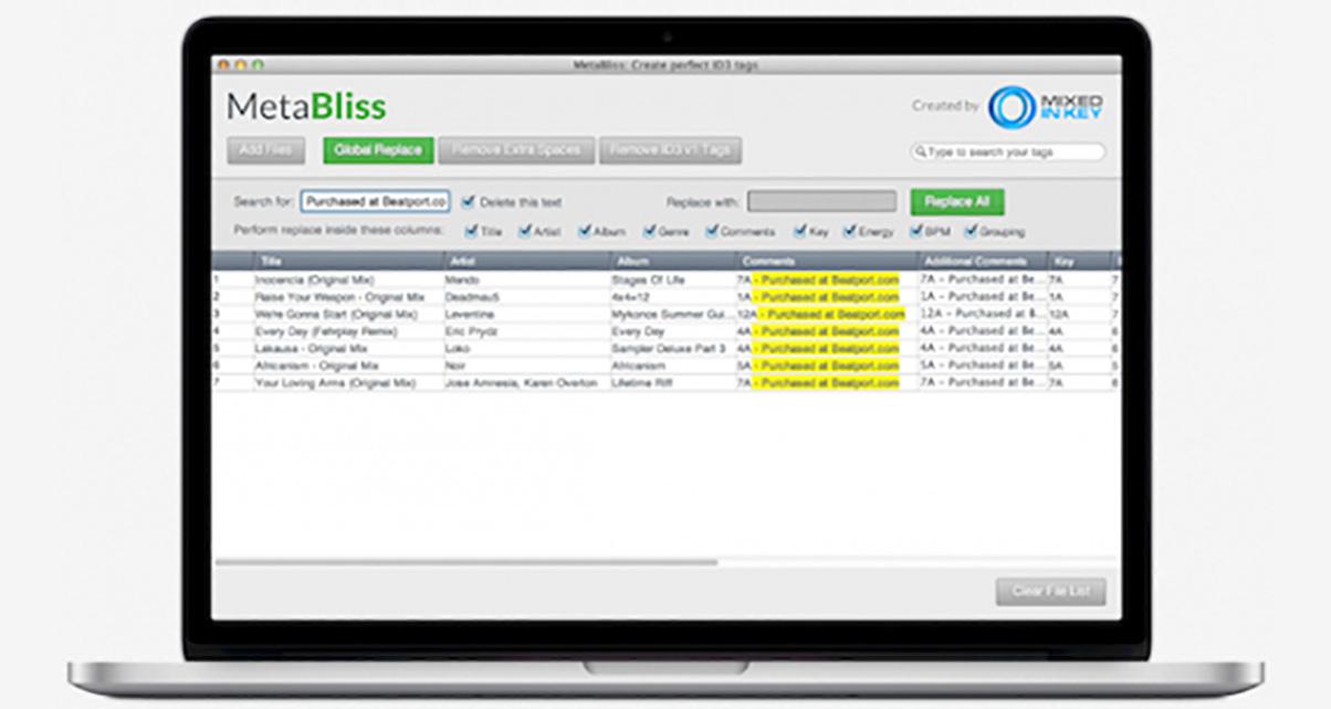 First Look: MetaBliss ID3 Tag Editor For Mac - Digital DJ Tips