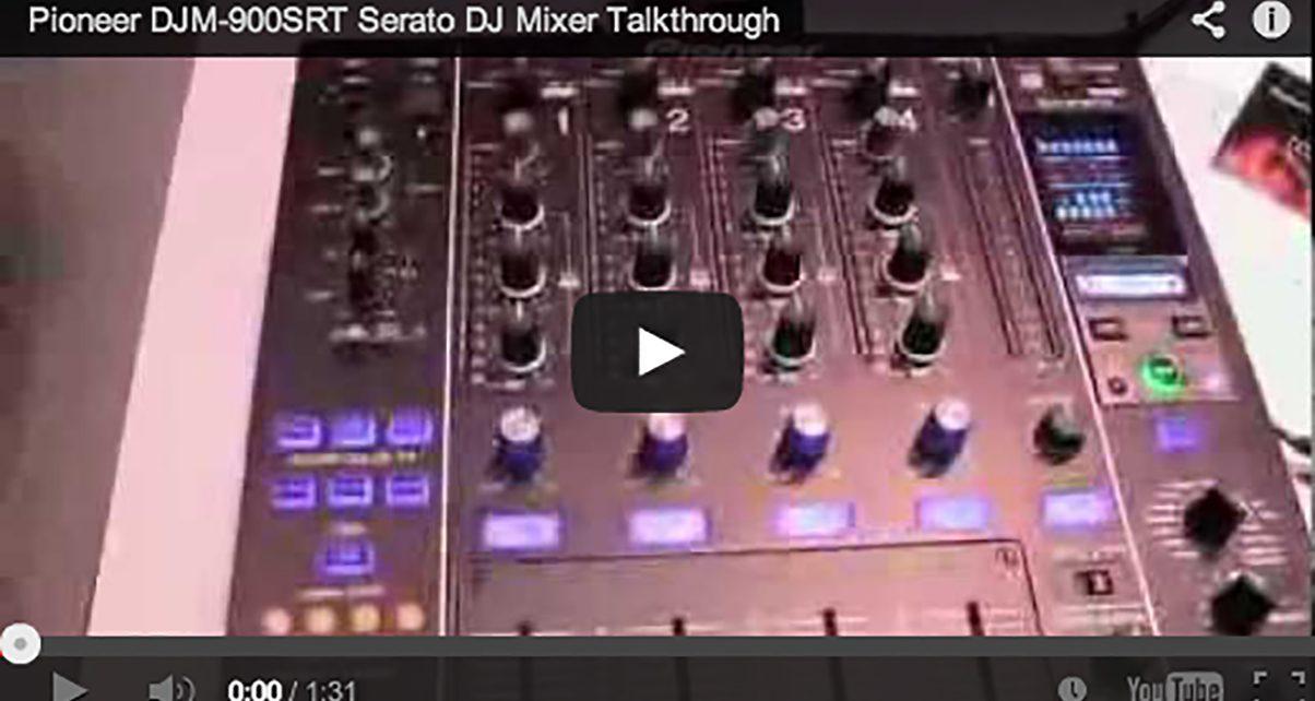 BPM 2013: Pioneer DJM-900SRT Serato DJ Mixer Video Talkthrough