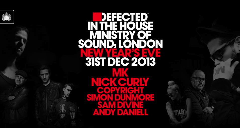 Ministry of Sound flyer