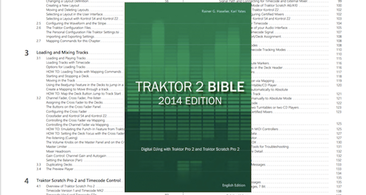 Traktor 2 Bible 2014 Edition Book Review - Digital DJ Tips