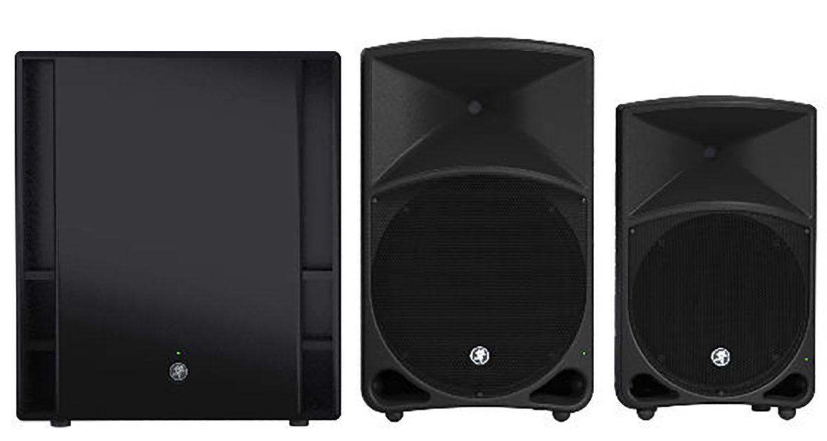 mackie refreshes thump loudspeaker series digital dj tips. Black Bedroom Furniture Sets. Home Design Ideas