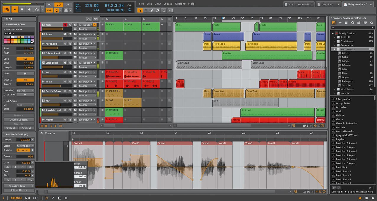 Bitwig Studio 1 0 Digital Audio Workstation Review - Digital