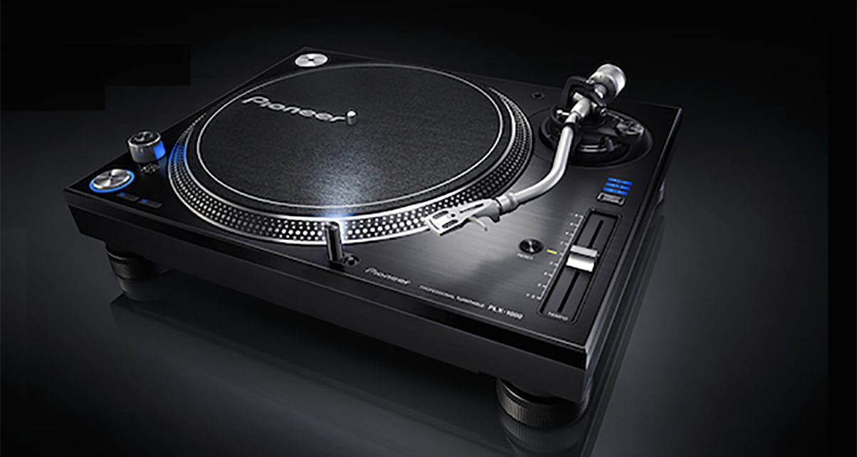 pioneer plx 1000 turntable officially announced digital dj tips. Black Bedroom Furniture Sets. Home Design Ideas