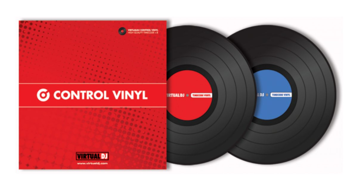 Virtual DJ 8 Timecode Vinyl