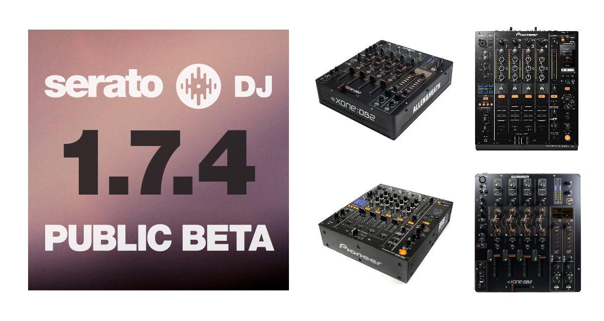 Serato DJ 1.7.4