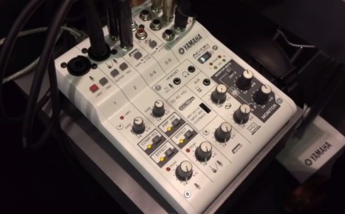 Yamaha AG-06 And AG-03 Mixers