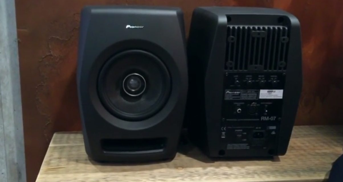 Pioneer RM-05 and RM-07 Speakers