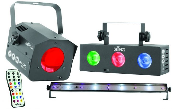 Chauvet JAM Pack Silver