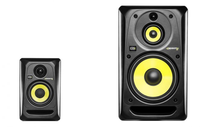 KRK Rokit 4 G3 and Rokit 10-3 G3