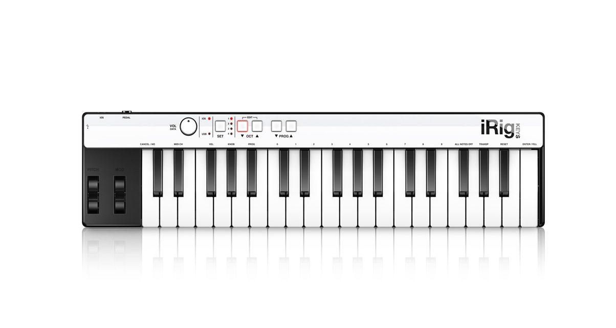 iRig Keys MIDI Keyboard Controller Review - Digital DJ Tips