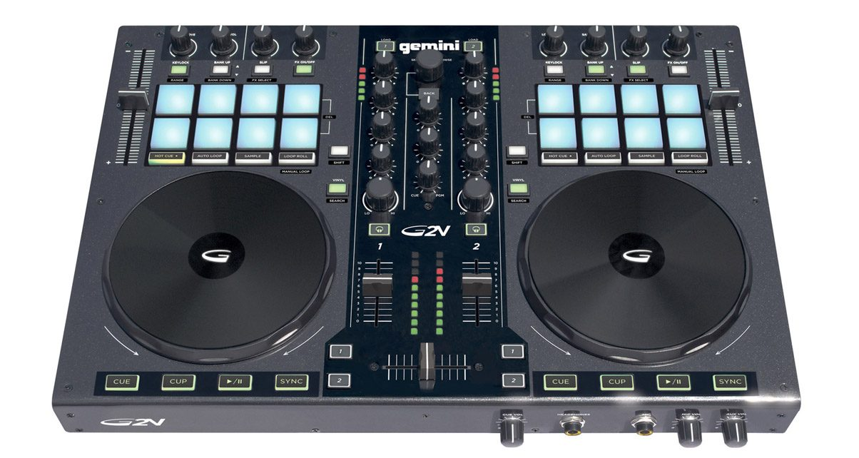 Gemini G2V Controller Review - Digital DJ Tips