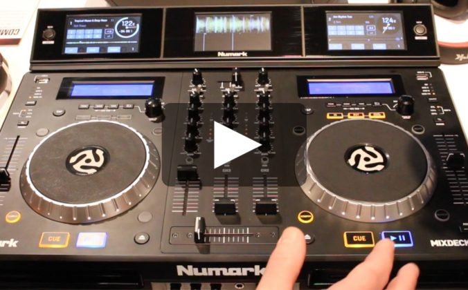 Numark CD Mix USB & Mixdeck Express