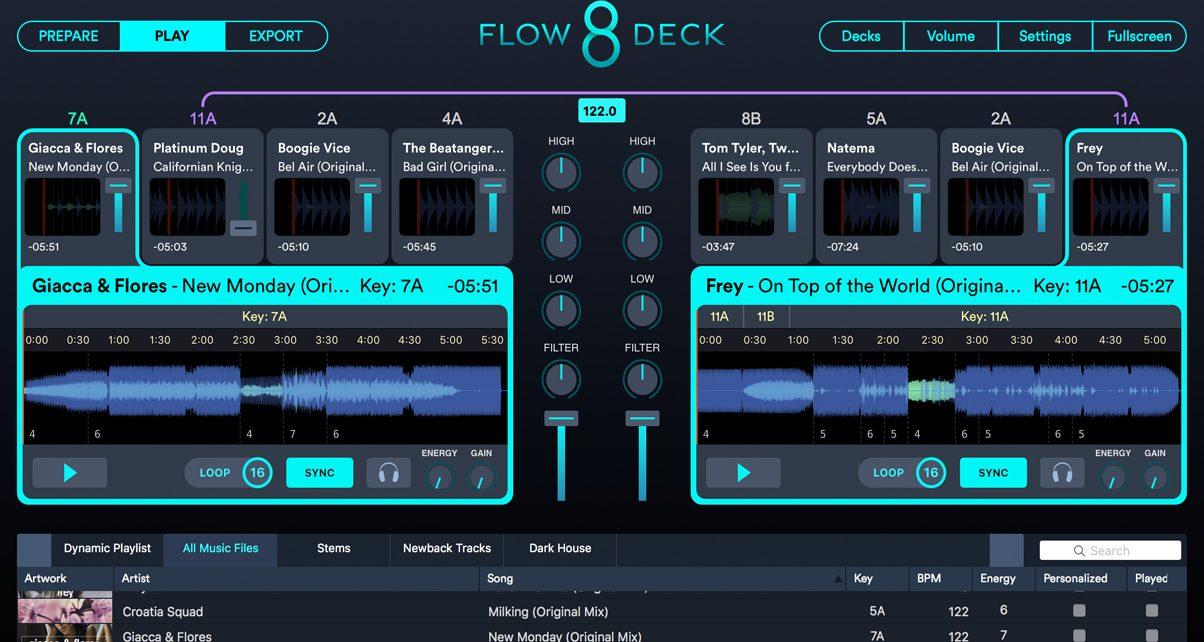 Flow 8 Deck