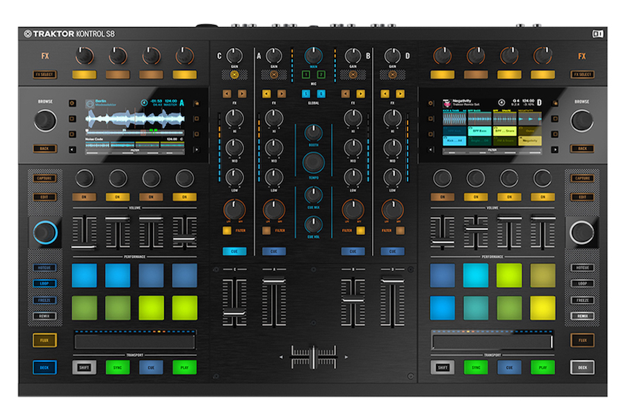 Native Instruments Traktor Kontrol S8 Controller Review