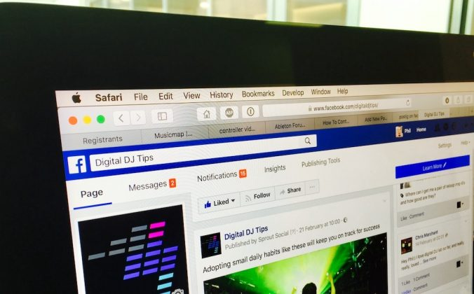 Digital DJ Tips Facebook Page