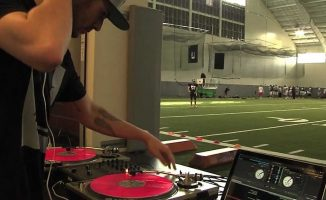 College DJ football