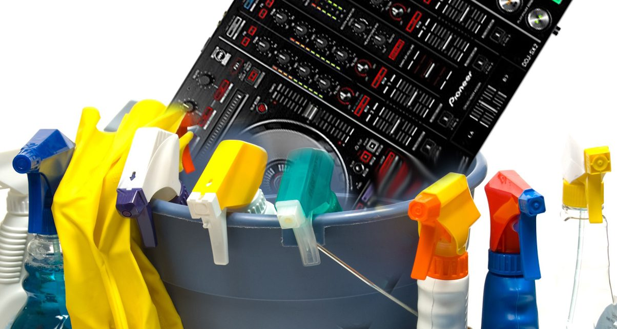 Over To You How Often Do You Clean Your Dj Gear