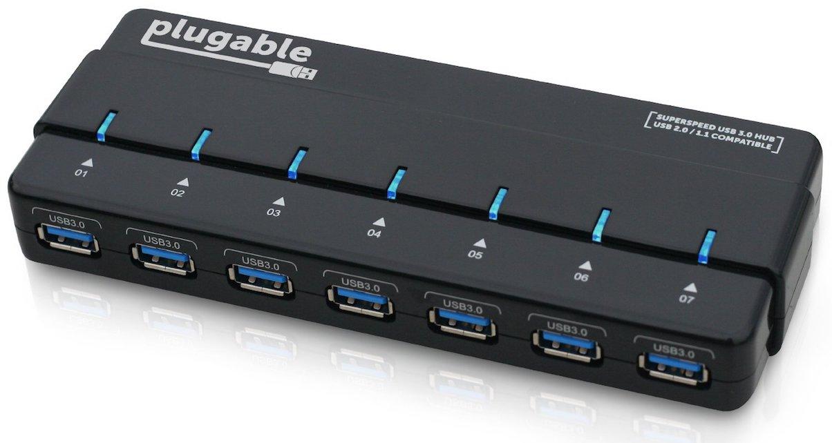 An external USB hub should be an essential item for digital DJs.