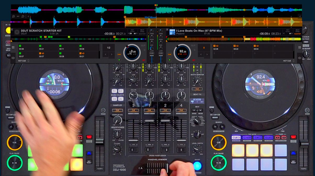 Scratching On DJ Controllers: 7 Myths Busted - Digital DJ Tips