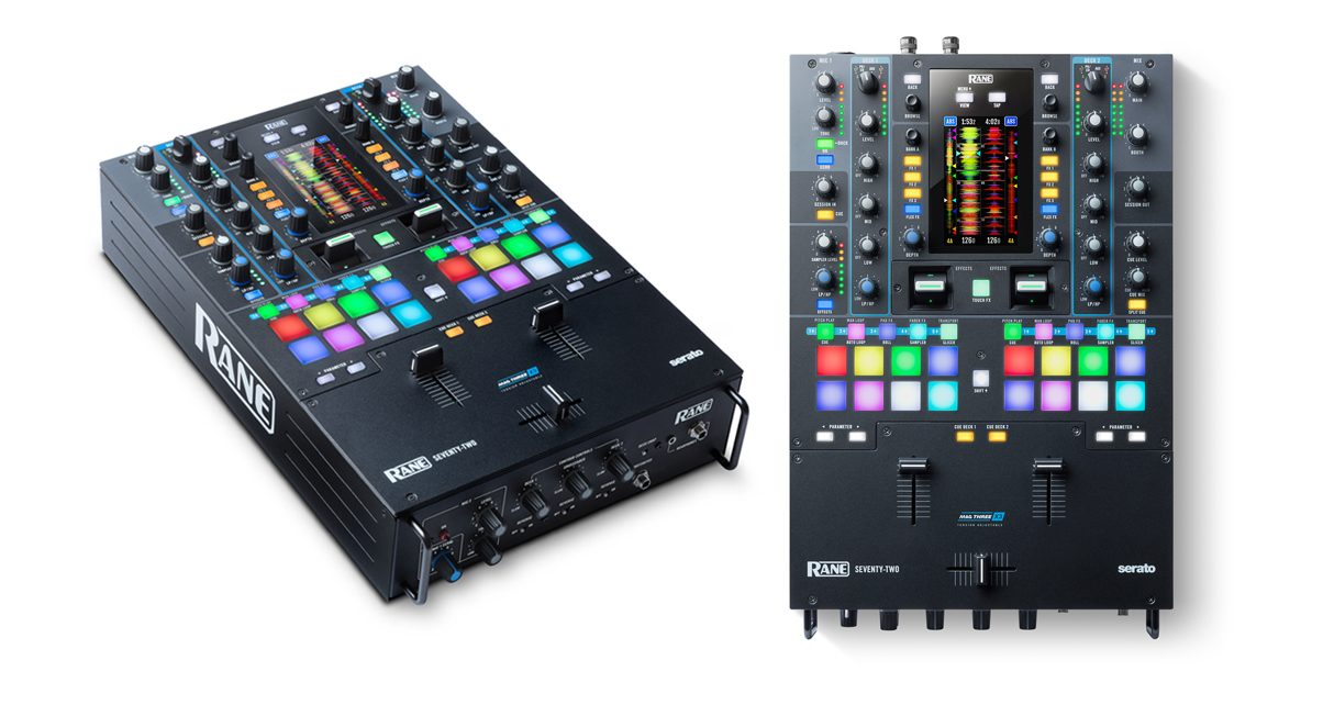 new serato mixer