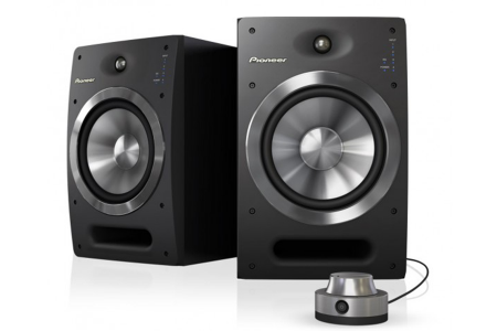 Pioneer S-DJ08 Active Speakers