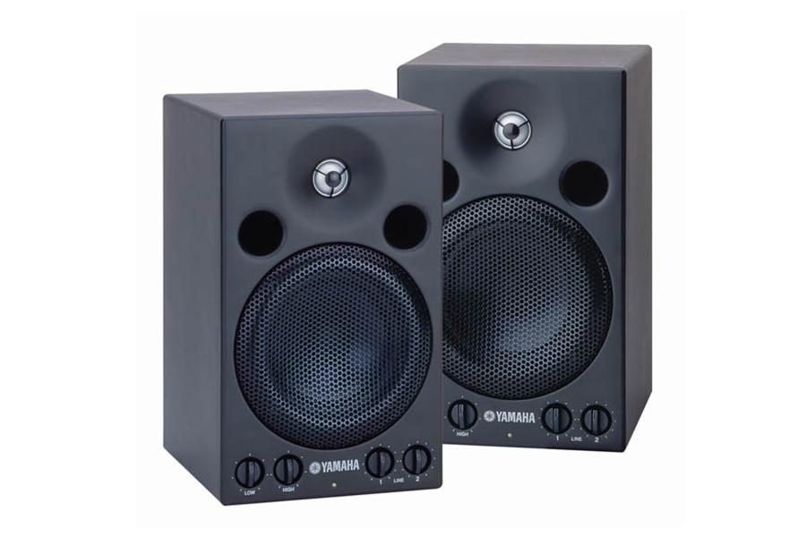 yamaha msp3 active monitor speakers review digital dj tips. Black Bedroom Furniture Sets. Home Design Ideas