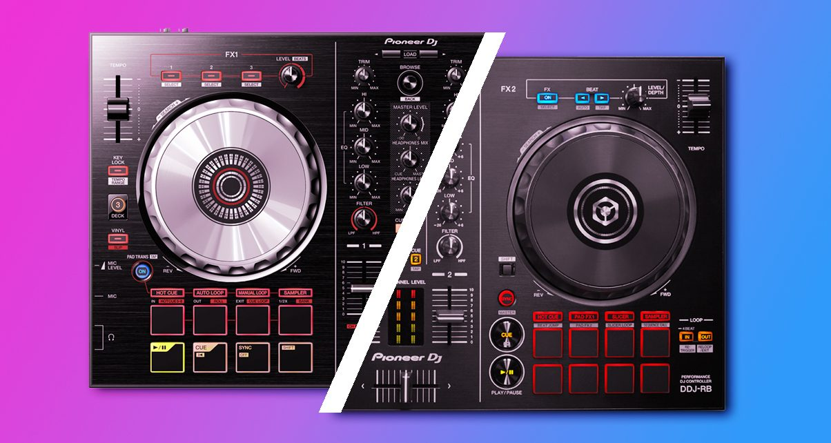 Head To Head: Pioneer DJ DDJ-SB2 Vs DDJ-RB - Digital DJ Tips