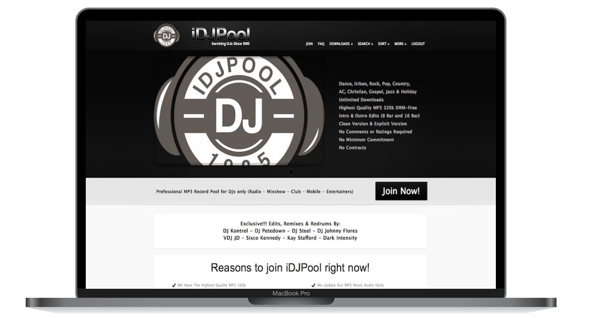iDJPool Online Record Pool Review - Digital DJ Tips