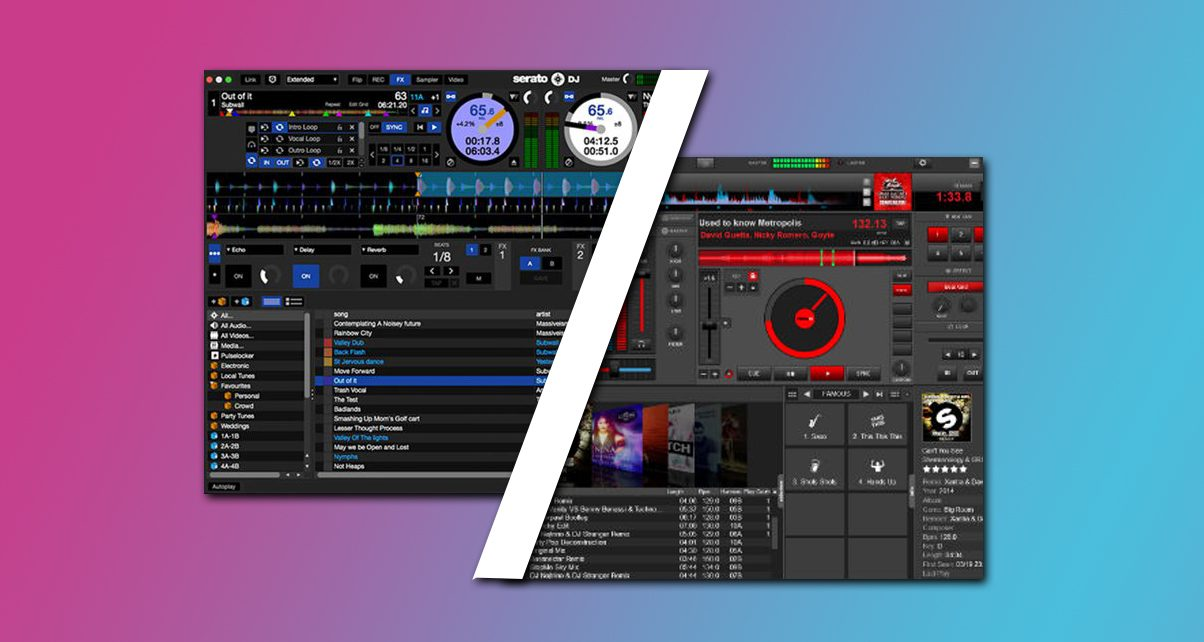 Head To Head Serato Dj Vs Virtual Dj 8 Digital Dj Tips
