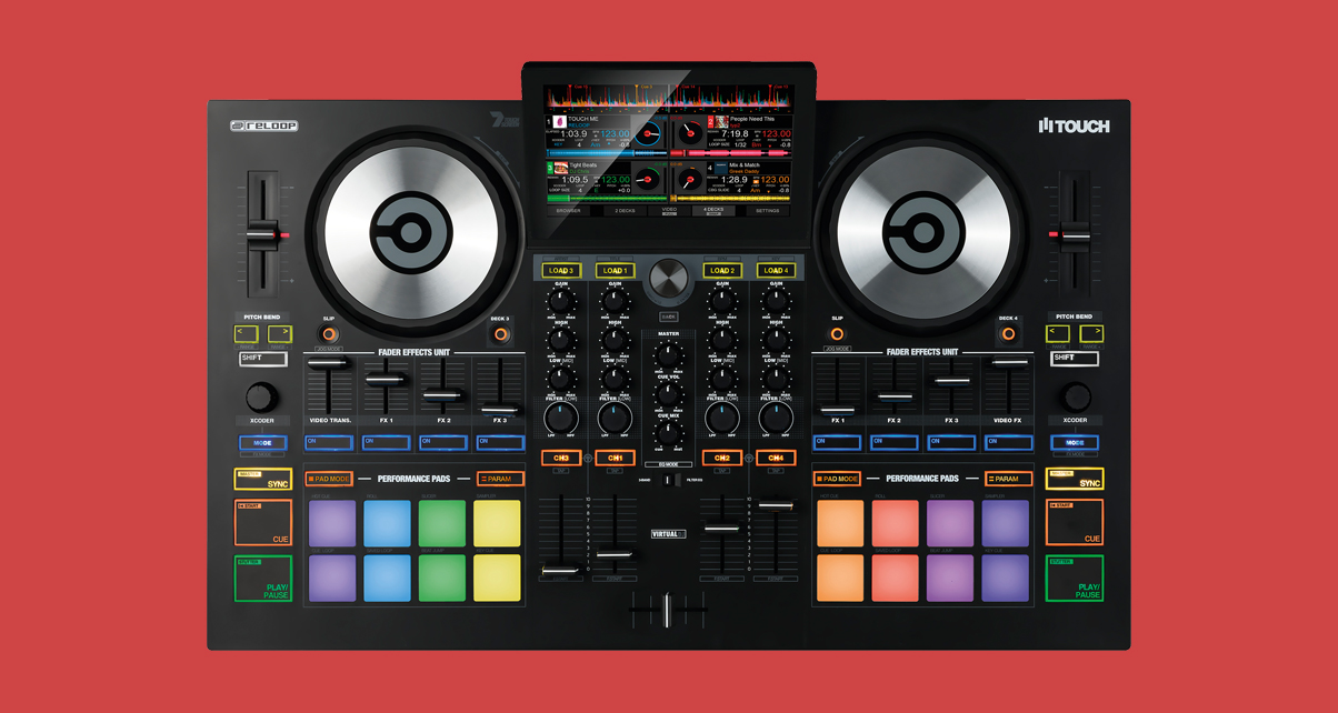 Reloop Touch Is A Touchscreen-Equipped Controller For Virtual DJ 8